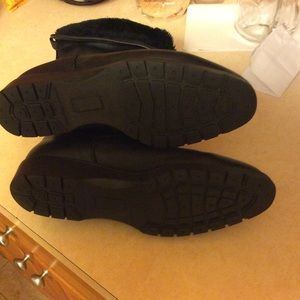 la canadienne Shoes - La canadienne black boot